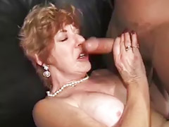 Granny, Gangbang, Grannies, Interracial, Huge, Gang