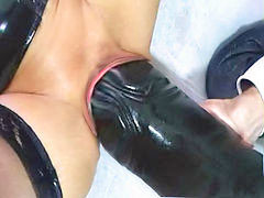 Monster, Dildo, Latex, Force, Forced