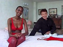 Black with milf, Black milf threesome